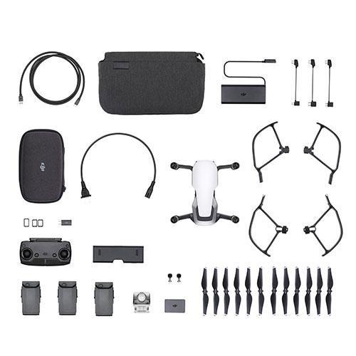 DJI Mavic Air Fly More Combo Drone in Arctic White - Refurbished