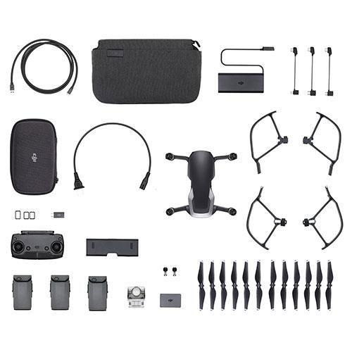 DJI Mavic Air Fly More Combo Drone in Black - Refurbished