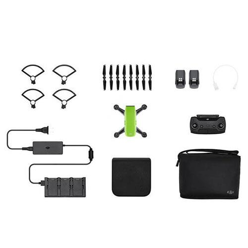 DJI Spark Drone Fly More Combo in Green Refurbished