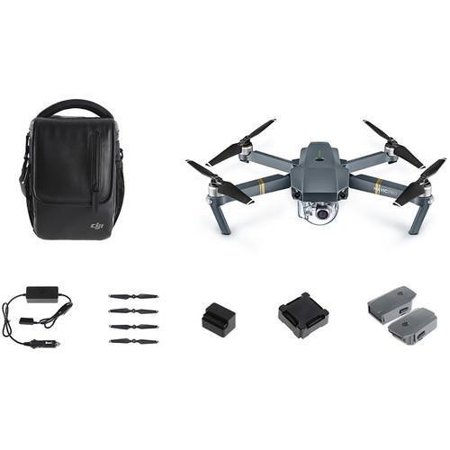 DJI Mavic Pro Fly More Combo Drone - Refurbished