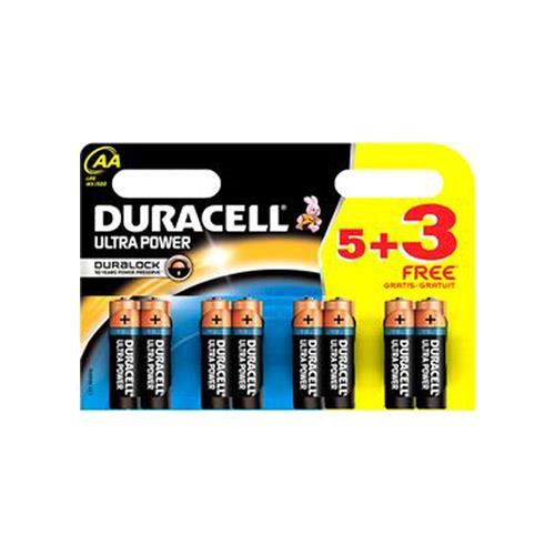 Duracell Ultra Power AA 8 Pack