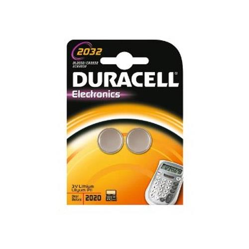 Duracell 2032 3V Coin Cell - Twin Pack