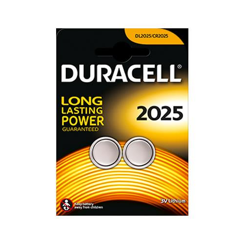 Duracell DL2025 Battery - Twin Pack