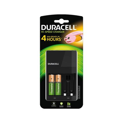 Duracell 4 Hour Charger with 2 AA Batteries