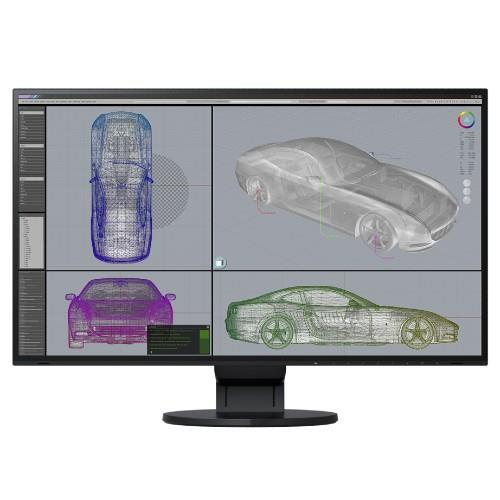 Eizo FlexScan EV2785 27 Inch IPS Monitor - Black