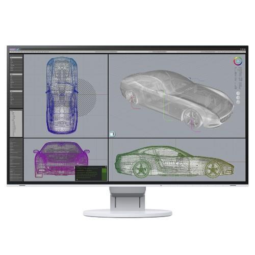 Eizo FlexScan EV2785 27 Inch IPS Monitor - White