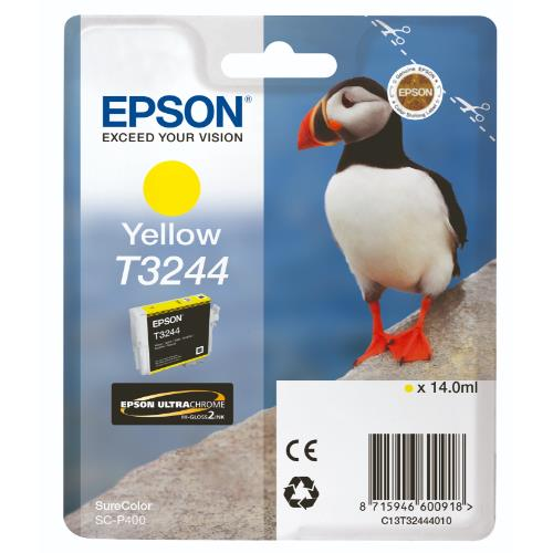 Epson T3244 Yellow Ink