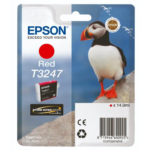 Epson T3247 Red Ink
