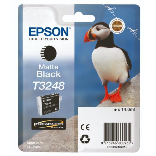 Epson T3248 Matte Black Ink