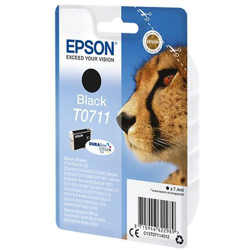 Epson Black T0711 Durabright Ink Cartridge
