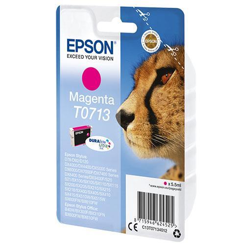 Epson Magenta T0713 Durabright Ink Cartridge