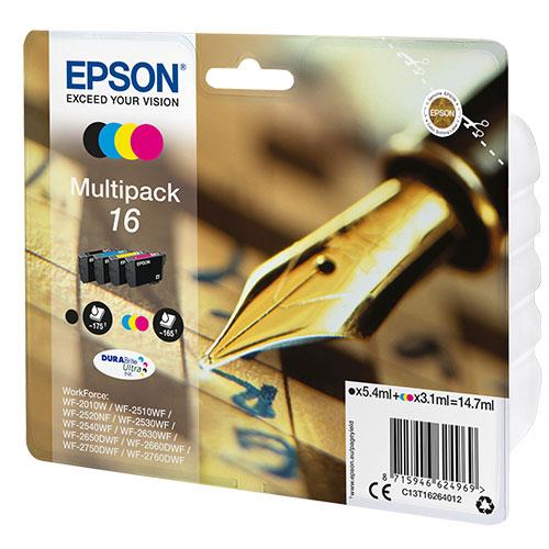 Epson 16 Series Multipack Durabright Ink Cartridges