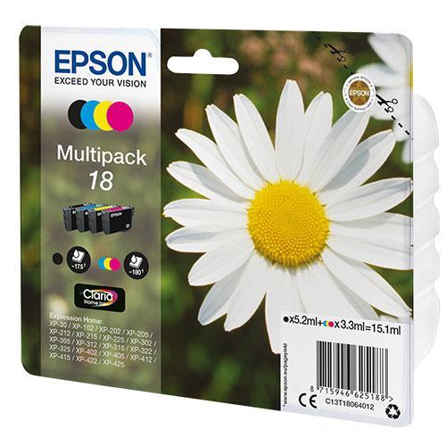 Epson Multipack 18 Claria Ink Cartridges