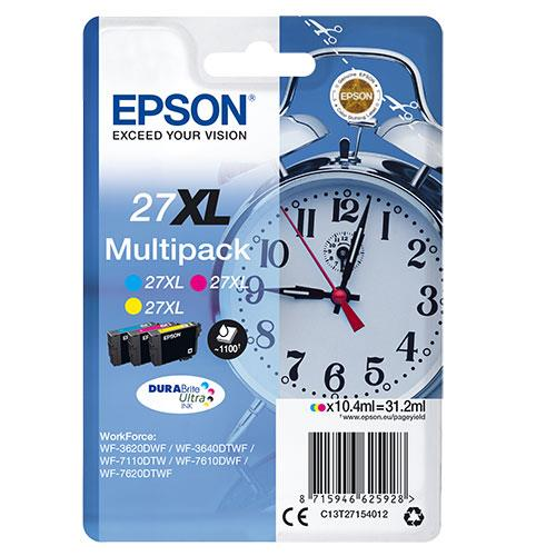 Epson Multipack 27XL Durabright Ink Cartridges