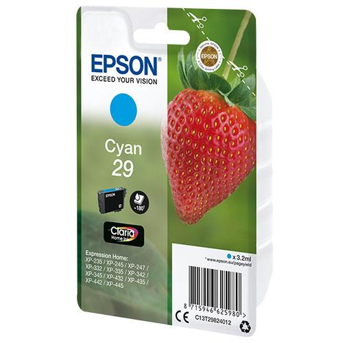 Epson Cyan 29 Claria Ink Cartridge