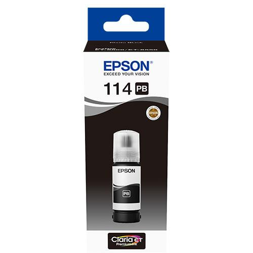 Epson 114 EcoTank Photo Black Ink Bottle