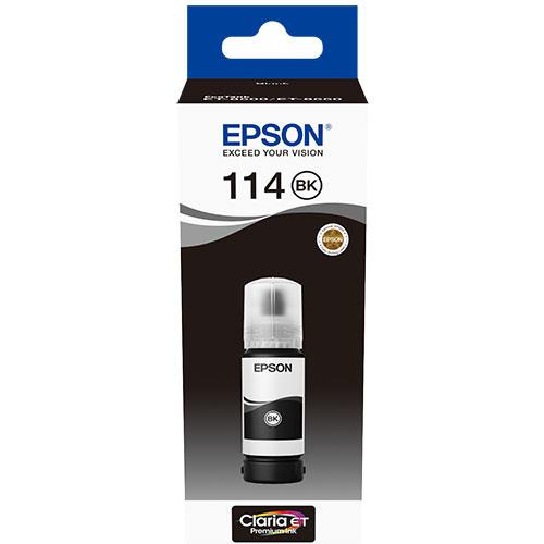 Epson 114 EcoTank Pigment Black Ink Bottle