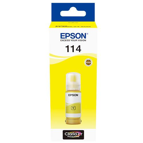 Epson 114 EcoTank Yellow Ink Bottle