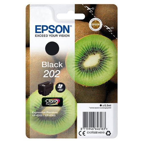 Epson 202 Black Claria Premium Ink