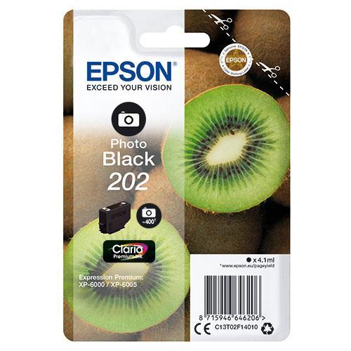 Epson 202 Photo Black Claria Premium Ink