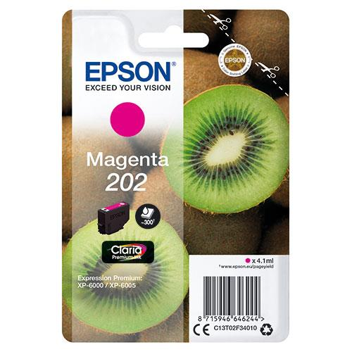 Epson 202 Magenta Claria Premium Ink