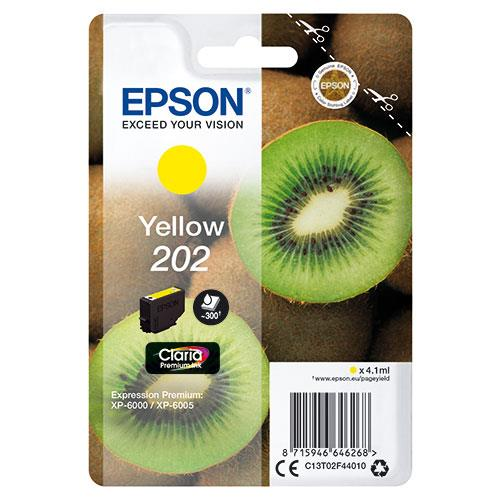 Epson 202 Yellow Claria Premium Ink