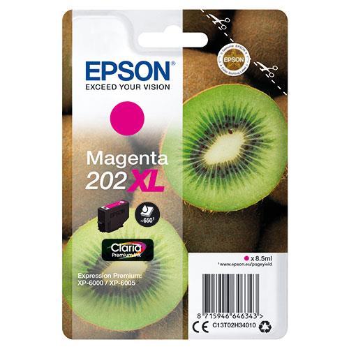 Epson 202XL Magenta Claria Premium Ink