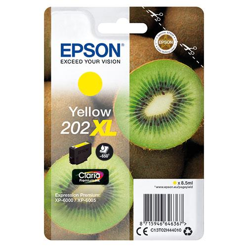 Epson 202XL Yellow Claria Premium Ink