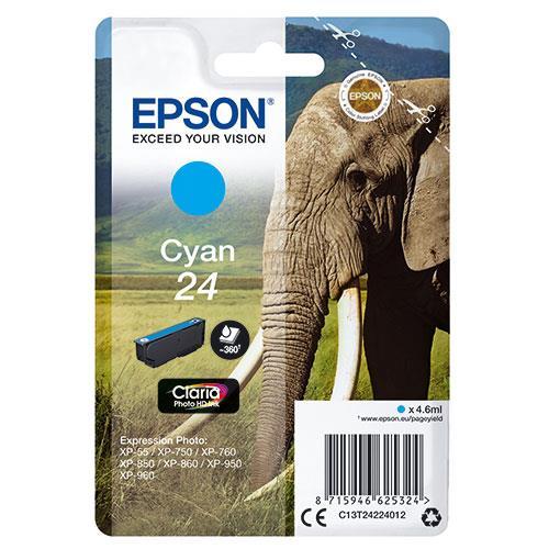 Epson 24 Cyan Claria Photo HD Ink