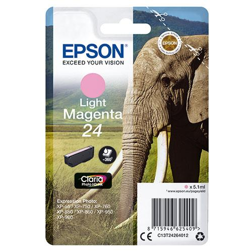 Epson 24 Magenta Claria Photo HD Ink