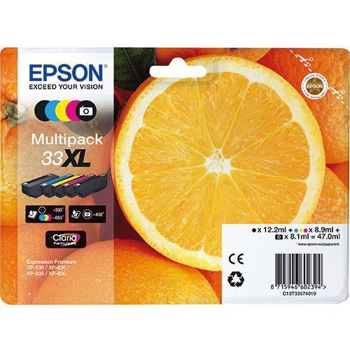 Epson 33XL Claria Premium 5-Colour Multipack