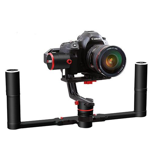 FeiyuTech a2000 3-Axis Gimbal Stabilizer Dual Handle Grip for DSLR/Mirrorless Cameras