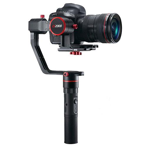 FeiyuTech a2000 3-Axis Gimbal Stabilizer Single Handle Grip for DSLR/Mirrorless Cameras