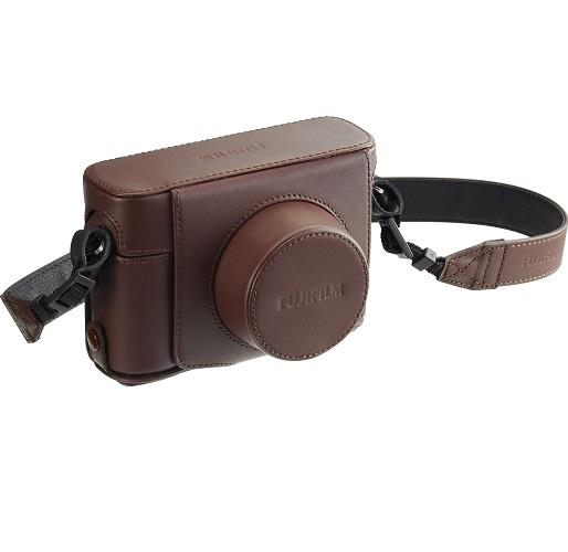 Fujifilm BLC-X100F 'Quickshot' Premium Case - Brown