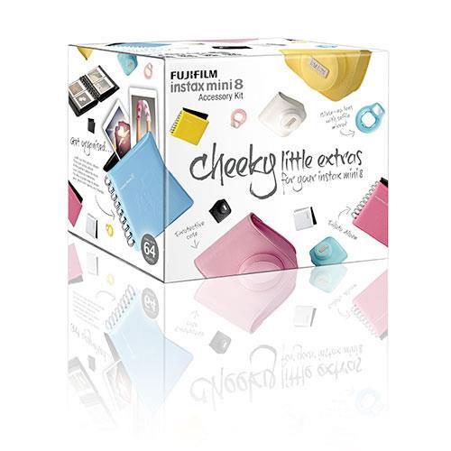 Instax mini 8 Accessory Kit - Raspberry