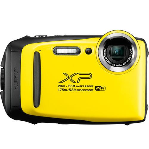 Fujifilm Finepix XP130 Digital Camera in Yellow