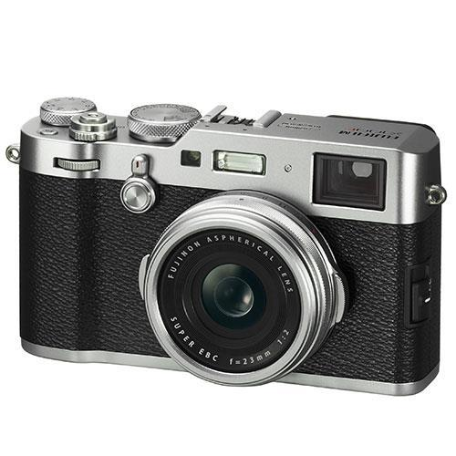 Fujifilm X100F Digital Camera in Silver - Ex Display