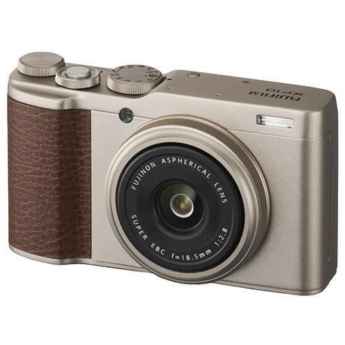Fujifilm XF10 Digital Camera in Champagne Gold - Ex Display