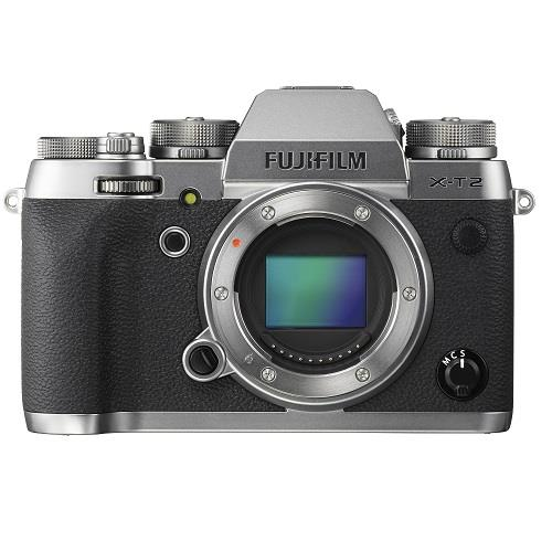 Fujifilm X-T2 Mirrorless Camera Body in Graphite Silver