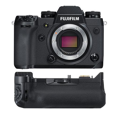 Fujifilm X-H1 Mirrorless Camera Body with VPB-XH1 Battery Grip and 2x Extra Batteries - Ex Display