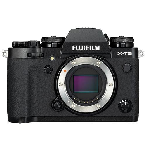 Fujifilm X-T3 Mirrorless Camera Body in Black