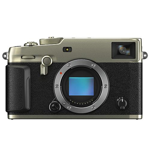 Fujifilm X-Pro3 Mirrorless Camera Body in Duratect Silver