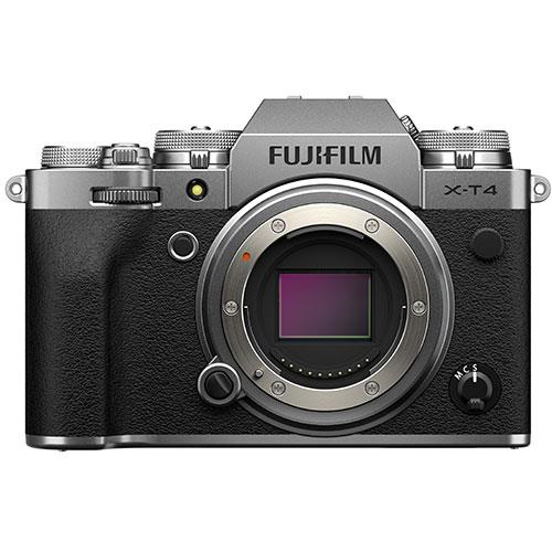 Fujifilm X-T4 Mirrorless Camera Body in Silver