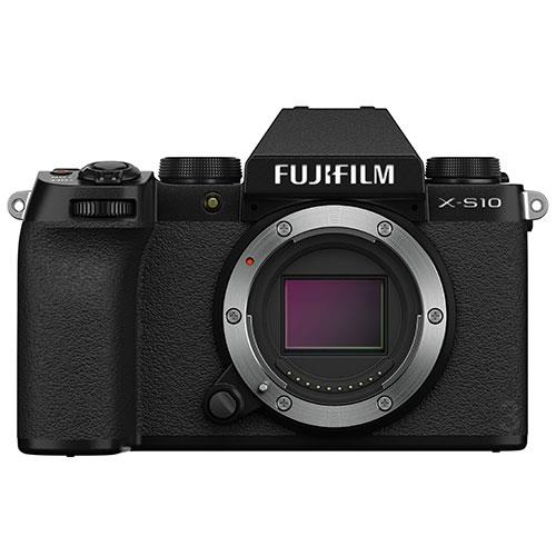 Fujifilm X-S10 Mirrorless Camera Body in Black