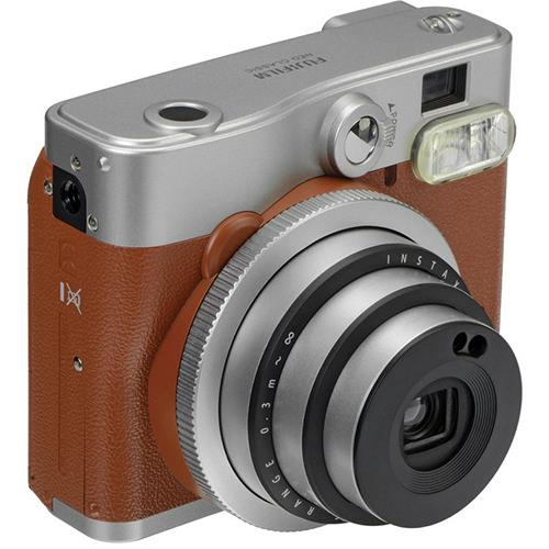 instax mini 90 Instant Camera in Brown with 10 Shots