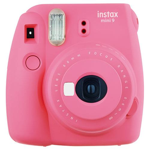 Instax mini 9 Instant Camera in Flamingo Pink with 10 Shots