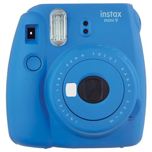 Instax mini 9 Instant Camera in Cobalt Blue with 10 Shots