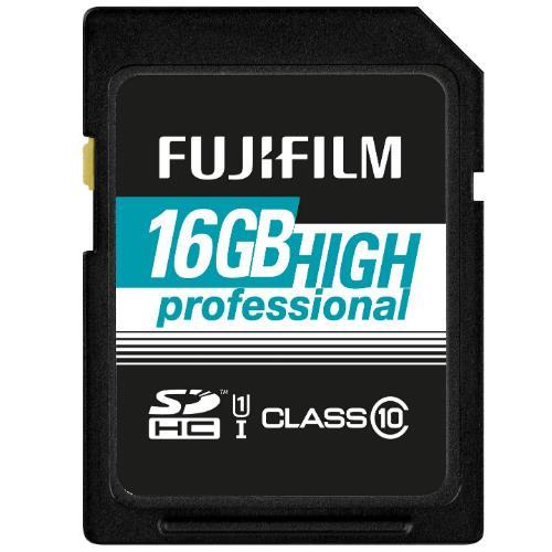 Fujifilm Professional SDHC 90MB/s 16GB UHS-I Memory Card