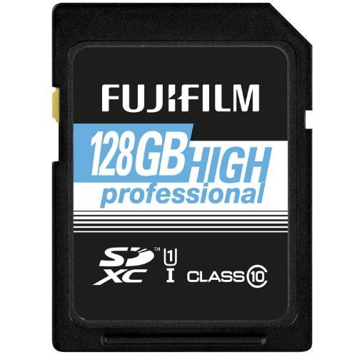 Fujifilm Professional SDXC 90MB/s 128GB UHS-I Memory Card