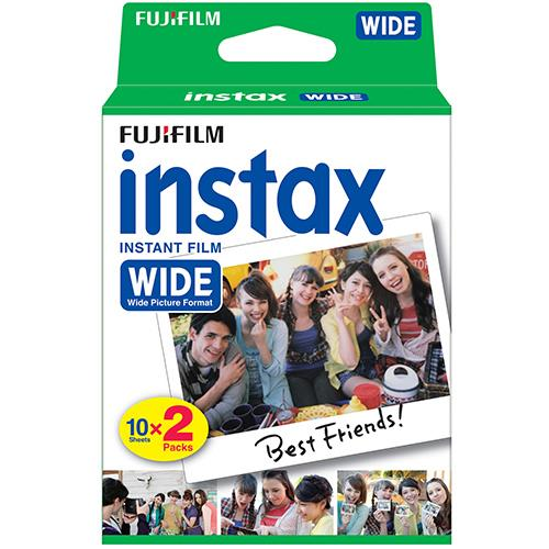 Instax Colour Film 20 Shot Wide Picture format